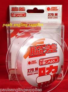 300yds-of-11-3-lb-Japan-Low-Memory-Fishing-Line