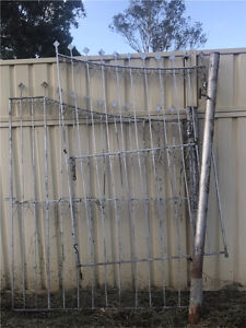 Double wrought iron gates Cambridge Park Penrith Area Preview
