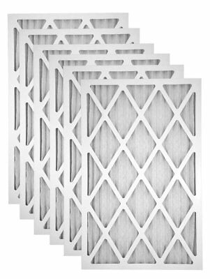 16x20x1 MERV 8 Pleated Air Filter - Case of 6 ()