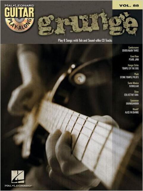 Guitar Play-Along: Volume 88: Grunge, New,  Book