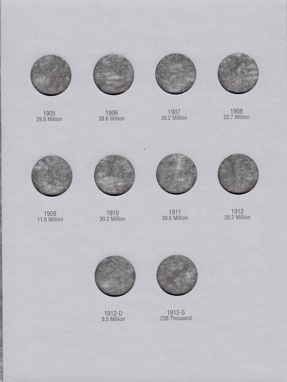 Missing 4 Coins 1883-1912 29 Coins Liberty V Nickels 5B-22