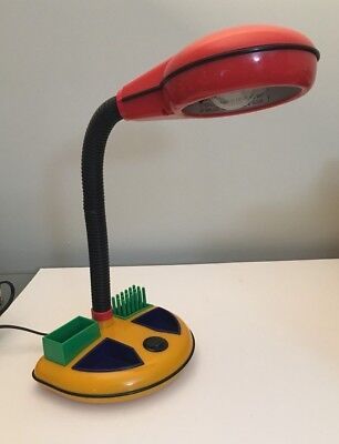 Used 1970s Rabbit Tanaka 09308D gooseneck desk lamp WORKS for sale  Indianapolis