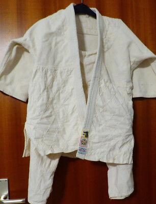 Japanischer Judoanzug Gr. 140, ca 45 J. alt, Judo, Antiquität, Rarität, Sammler