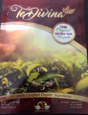 Te Divina Vida Divina The Original Detox Tea Supply 1 Packs