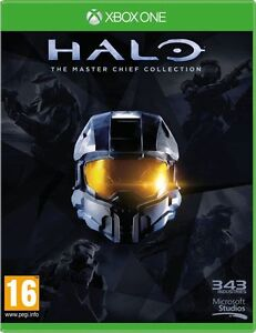 HALO The  Master Chief Collection Xbox One  - MINT 1st Class Delivery