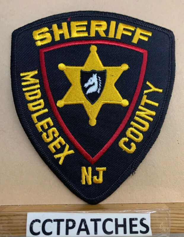 MIDDLESEX COUNTY, NEW JERSEY POLICE SHOULDER PATCH NJ