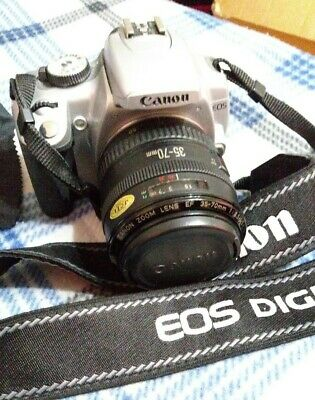 Canon EOS Rebel XTi Digital DSLR Camera DS126151 w/ EF 35-70mm Lens & Strap