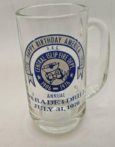 Islip New York NY Suffolk County Long Island Fire Department Mug July 1976