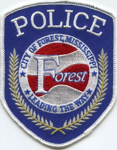 FOREST MISSISSIPPI MS Leading The Way POLICE PATCH