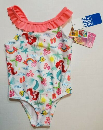 Disney My Little Mermaid One Piece Toddler Swimsuit 2T 3T 4T  NWT sHiPs FaSt!
