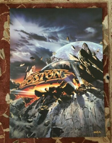 BOSTON  Walk On  rare original promotional poster from 1994
