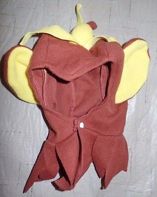 baby boys infant BROWN MONKEY HEAD PIECE HALLOWEEN COSTUME WEAR BANANA ON TOP! ](Baby Head Costume)