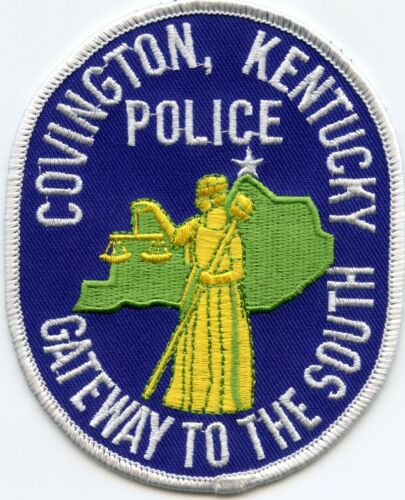 COVINGTON KENTUCKY KY Gateway To The South POLICE PATCH