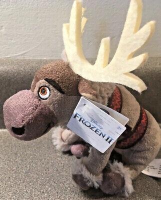 "Disney Frozen 2 Sven Plush 7"" Kids Stuffed Animal Reindeer Toy Frozen II NWT"