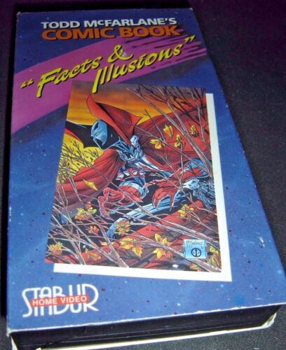 Todd Mcfarlane's Comic Book Facts & Illusions VHS 1992