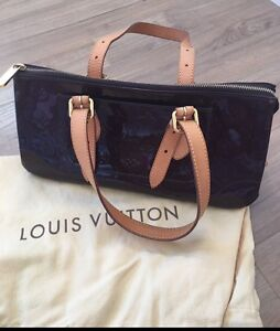 Pre-Loved Authentic LV bag in dark purple vernis leather. Parkinson Brisbane South West Preview