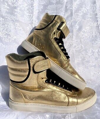Android Homme Men's Propulsion 1.5 Hightop Gold Sneakers Size 11