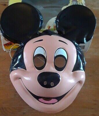 Vintage Ben Cooper MICKEY MOUSE Mask / Halloween Costume in original box
