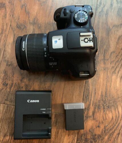 Canon Rebel T6 dSLR camera kit...