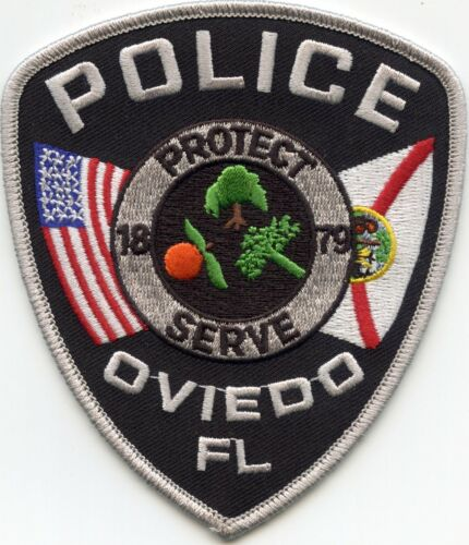 OVIEDO FLORIDA FL POLICE PATCH