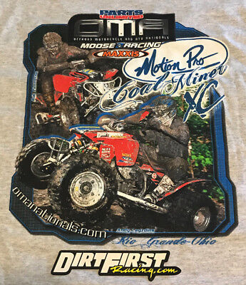 NOS OMA Nationals Series Cole Miners XC Race Lagzdins Tshirt Honda TRX450R -