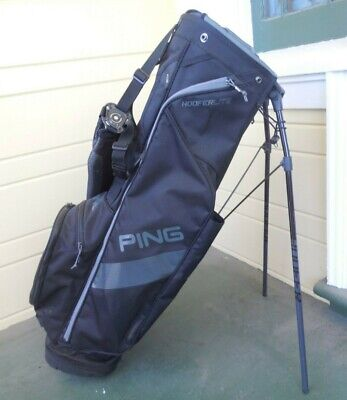 PING HOOFER LITE 4.0 STAND BAG / 4 WAY DIVIDE / NO RAIN COVER