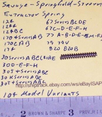 Savage-Springfield-Stevens EXTRACTOR SPRING 124-170-30-67-77-79-820
