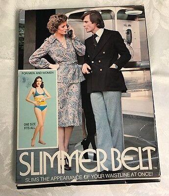 Vintage 70's Slimmer Belt For Men Women Retro Slimming Shape wear Smoothing](70s Wear For Women)