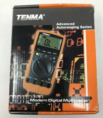 Tenma 72-7745 Digital Multimeter Handheld Voltage Measuring Device Automanual