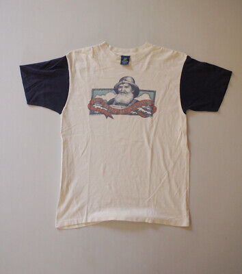 80s Tops, Shirts, T-shirts, Blouse   90s T-shirts Vintage Michigan 80s White Blue Sailing T-Shirt Faded Distressed USA Size L $31.20 AT vintagedancer.com
