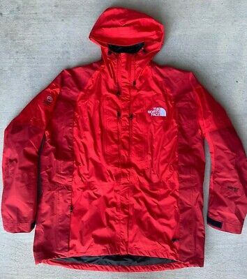 The North Face Mens Summit Series Gore-Tex XCR Jacket Red 2XL