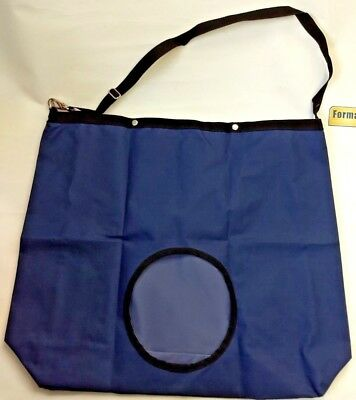 NEW Formay Blue Hay Tote Bag Equine Barn Horse Tack 30x23x9