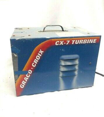 Graco Croix Cx-7 Turbine Hlvp Spray Paint System Sprayer