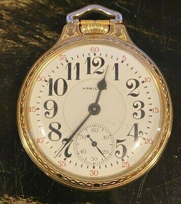 Exceptional Hamilton 950B Railroad Pocket Watch 1950s | 16 Size, 23 Jewel, Mint