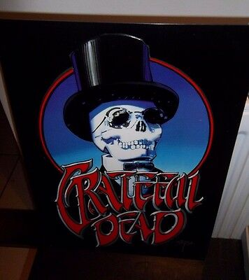 "GRATEFUL DEAD, REPRO STEEL/METAL WALL SIGN, USA IMPORT 17"" x 12"" (43 x 31 cm) ."