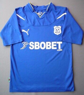 Cardiff City Jersey 2010 2011 Home M Shirt Mens Football Soccer Blue Puma ig93 image