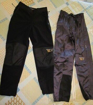 c0d40df9b48e 2 Pair NEW Mountain HardWear Women's Sz 6 Pants Waterproof