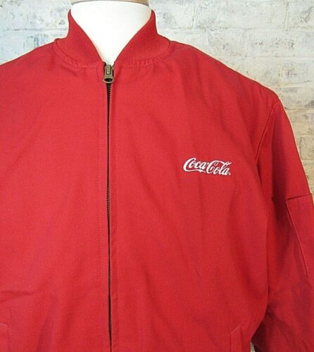Vintage Coca Cola Workwear Jacket Insulated Delivery Trucker Men