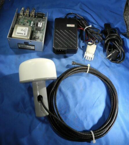 TRIMBLE GPS RECEIVER CLOCK THUNDERBOLT 48050-61 GPS ANTENNA & POWER SUPPLY