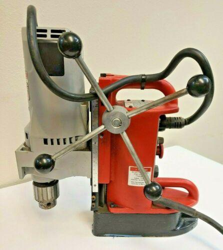 """Milwaukee 4202 Electromagnetic Drill Press Variable speed Position Magnetic 3/4"""""""