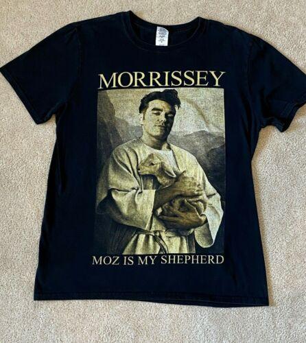 Morrissey Moz - Concert Tshirt Moz is My Shepherd tshirt Size M MINT