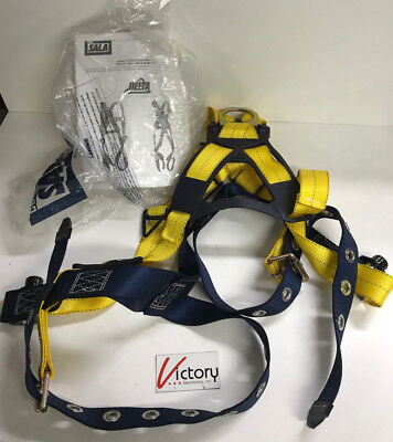 3m Dbi-sala Delta 1102000 Vest Style Harness Back D-ring Tongue Buckle Safety