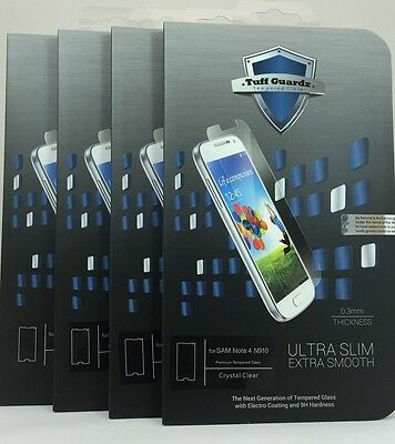 Lots Of 4 Best Premium Tempered Glass Screen Protector Samsung Galaxy