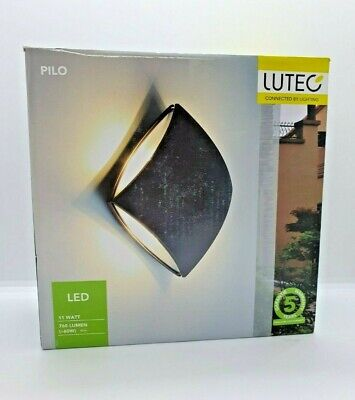 Lutec Pilo 11W IP54 LED Wall Light - BRAND NEW