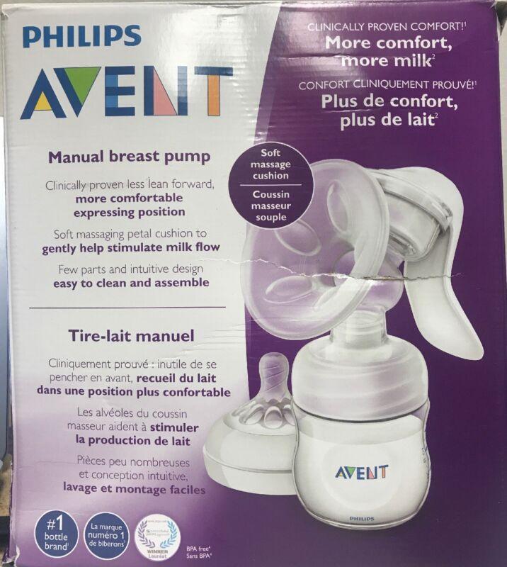 Philips Avent Manual Comfort Breast Pump- Used