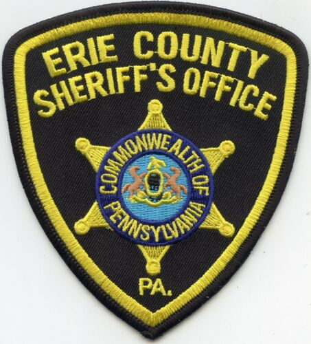 ERIE COUNTY PENNSYLVANIA PA SHERIFF POLICE PATCH