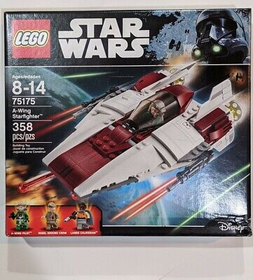 LEGO 75175 Star Wars A-Wing Starfighter NEW SEALED RARE RETIRED