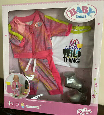 Baby Born Outfit Wild Thing Zapf Creation 43 Cm New Doll Girl Boy Cute! for sale  Shipping to Ireland