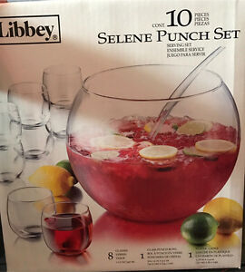 Brand new punch bowl set