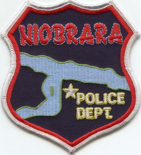 NIOBRARA NEBRASKA NE POLICE PATCH